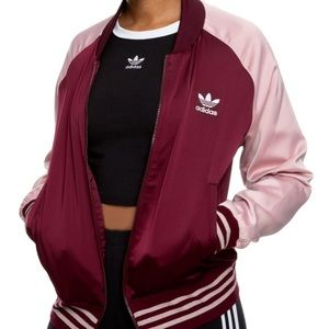 Satin Addidas Bomber Jacket